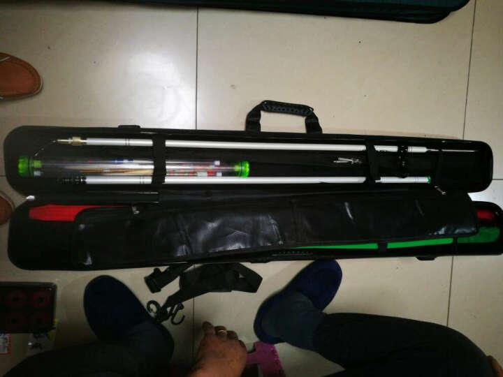 瑞豹(Rimbato) 瑞豹PC支架鱼竿包ABS钓鱼包渔具包1.25米防水垂钓竿包硬壳 PC支架鱼竿包 深灰色 晒单图