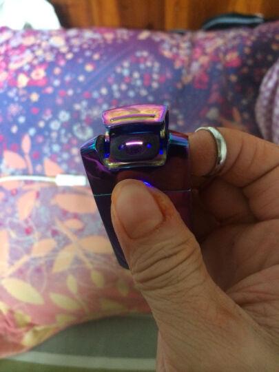 MAJORIS USB充电打火机 电弧脉冲电子点烟器 防风创意火机礼品 炫彩 晒单图