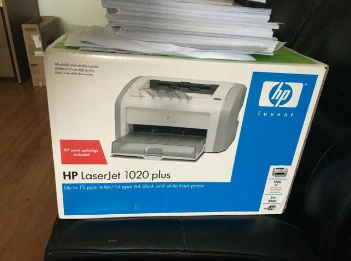 惠普(HP)LaserJet 1020 Plus 黑白激光打印机 晒单图
