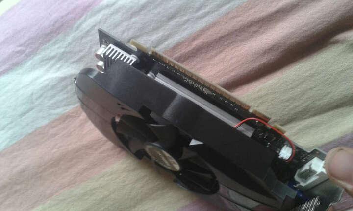 铭速GTS450 2GB D5 战神783/3400Mhz/lol守望先锋游戏独立显卡 晒单图