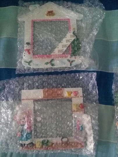 开关贴家居饰品树脂墙贴创意欧式复古田园装饰套开关保护套插座贴 天鹅荷花金色 晒单图