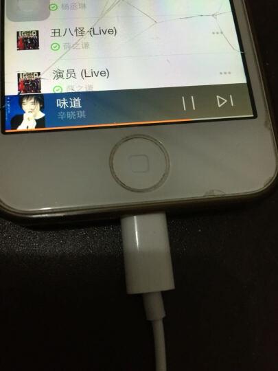 APPHOME 苹果iPhoneX/8/7手机耳机 Lightning接口线控数字耳麦 iphone耳机 可通话 晒单图