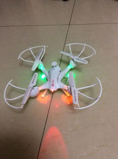 格灵岛 GreenToys儿童四翼遥控飞机航拍飞行器无人机遥控玩具 白色S6 晒单图