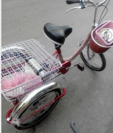迈高登皇捷 双人自行车成人24寸情侣车两人骑脚踏车旅游景点出租观光车 白蓝色母子车 晒单图