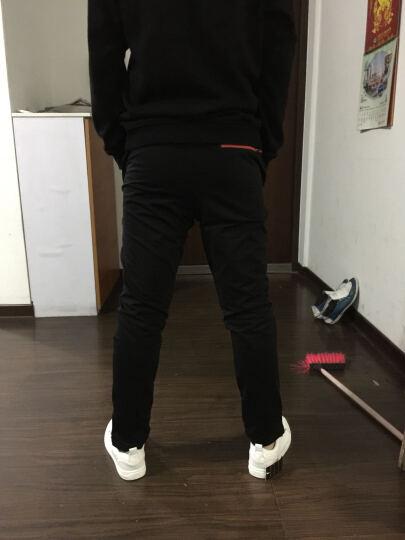 黑优服饰休闲鞋男单鞋夏季透气侧拉链韩版时尚男士百搭小白鞋 白色 40 晒单图