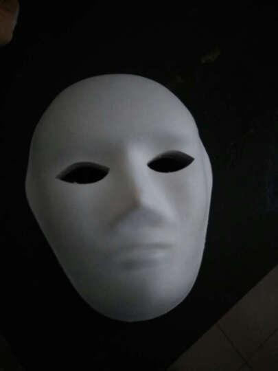 儿童diy面具白色批发纸浆面具白坯白模填色绘画幼儿园DIY手工材料 葫芦 晒单图
