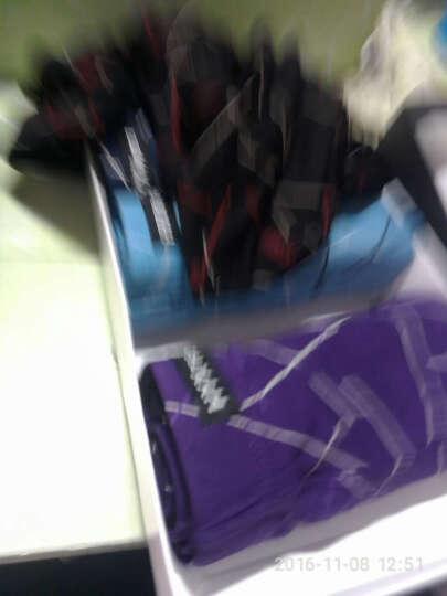 24小时内发货 恒源祥(HYX)男士内裤男 平角内裤男内裤男冰丝四角裤中腰印花运动短裤头大码内裤礼盒 线条B组合 175/100(XL) 晒单图