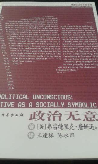 知识分子图书馆:政治无意识 晒单图