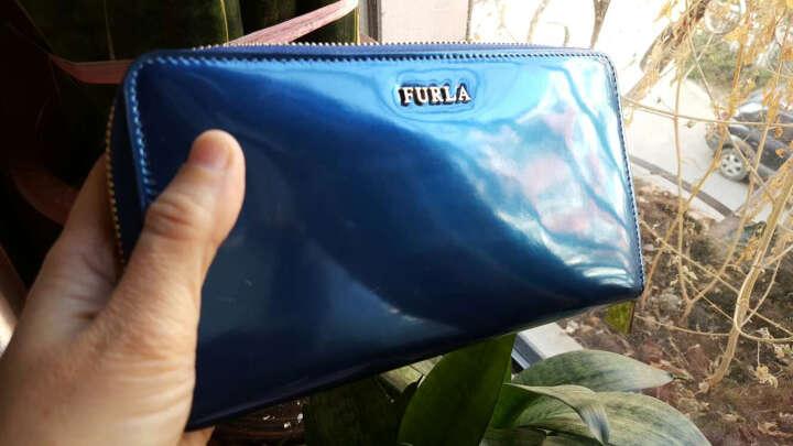 Furla 芙拉 女士BABYLON系列银色牛皮长款钱包 792010 P PN17 SPK 晒单图