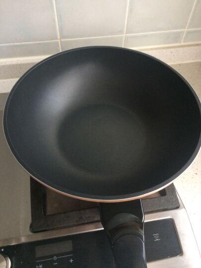钻技(ZUANJ) 钻技ZUANJ进口炒锅不粘锅套组所有炉具通用 30cm 晒单图