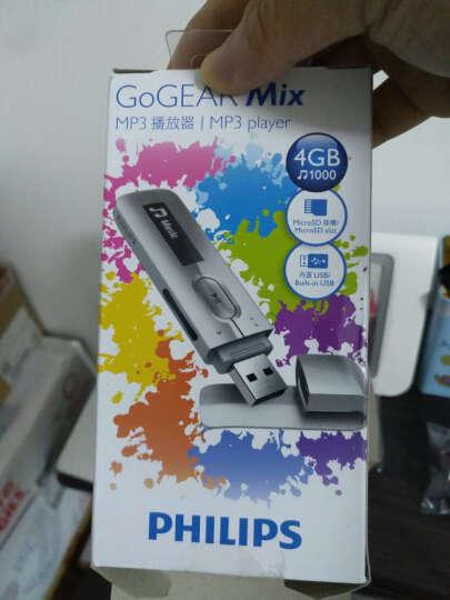 飞利浦(PHILIPS)SA5MXX04SFC MP3播放器 直插式录音笔U盘 银色 晒单图