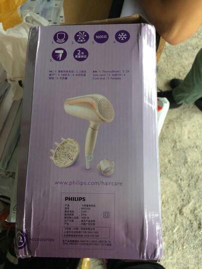 飞利浦(PHILIPS)电吹风机 HP8235/00 家用大功率4倍负离子恒温快干冷热风吹风筒 晒单图