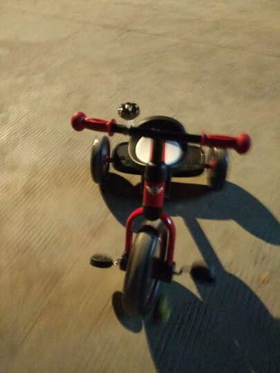 星辉(Rastar) 儿童礼物宝马MINI儿童脚踏车三轮车儿童三轮车宝宝车 升级版+遮阳伞红色 晒单图