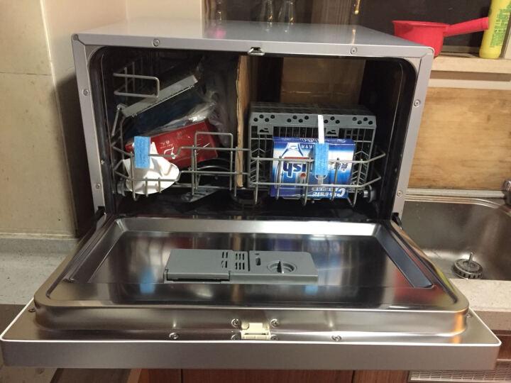 知乐(ZHILE)家用洗碗机台式洗碗机 小型家用台式全自动洗碗机 XWJ-1509特价 晒单图
