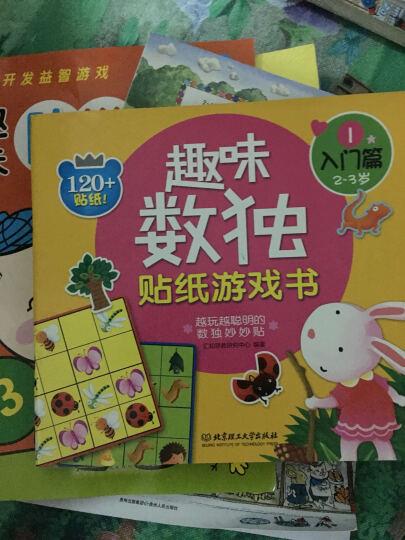 趣味数独贴纸游戏书:入门篇(2-3岁) 晒单图