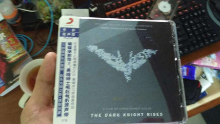 汉斯·季默·蝙蝠侠前传3:黑暗骑士崛起(电影原声带CD) 晒单图
