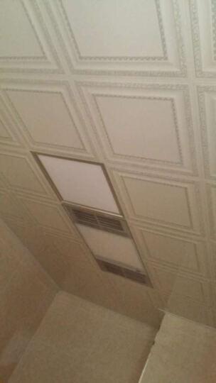 欧米克集成吊顶 扣板  厨房卫生间客厅 卧室纳米抗油污易清洗 银色爱情海扣板 晒单图