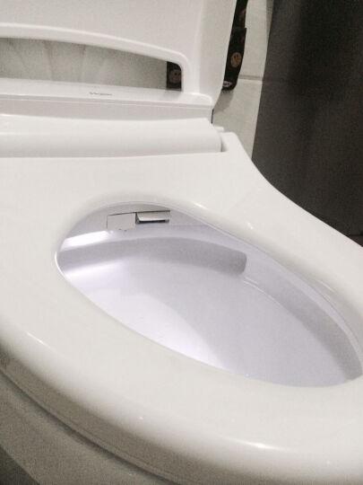 海尔(Haier)卫玺 智能马桶盖洁身器电子坐便盖板持续温水冲洗V-168CK 妇洗臀洗 暖风烘干 移动清洗 晒单图