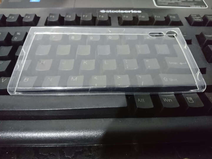 PUROCASE 手机壳保护套透明硅胶软壳防摔适用索尼suoXperia XZ/F8332 清透白 晒单图