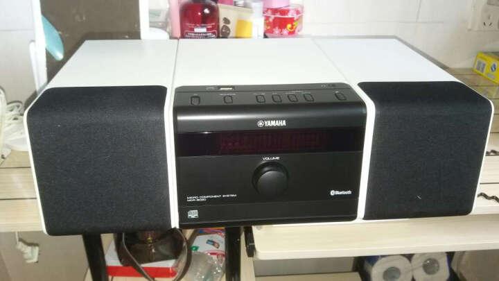 雅马哈(Yamaha)MCR-B020 音响 音箱 CD机 USB播放机 迷你音响 组合音响 蓝牙音响 定时闹钟 电脑音响 橙色 晒单图