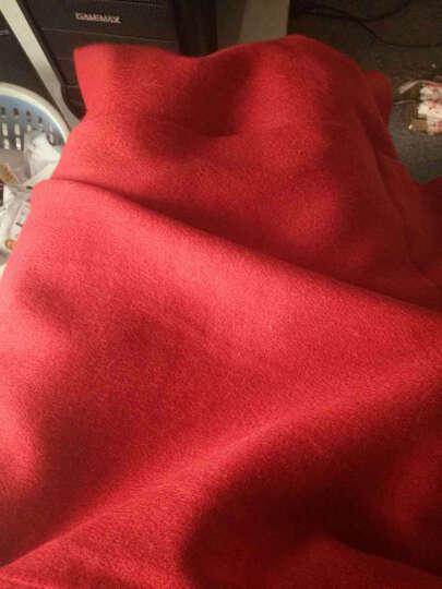 上海故事围巾女秋冬季经典英伦格子羊毛围脖男女情侣款礼盒装 177070情侣两条 晒单图