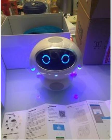 巴巴腾(BABATENG) 巴巴腾智能机器人玩具小腾儿童学习机国学百科英语故事机互动语音 巴巴腾机器人 晒单图