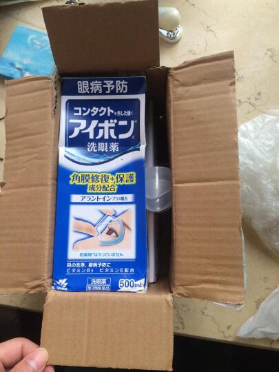 小林制药KOBAYASHI日本进口洗眼液眼药水洗眼水500ml眼部护理缓解眼疲劳景甜洗眼水 深蓝色 2瓶装 晒单图