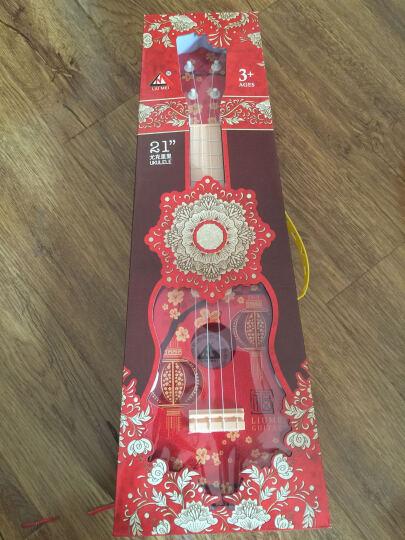 六美 儿童吉他乐器玩具21寸尤克里里可弹吉它益智玩具 中国福 晒单图
