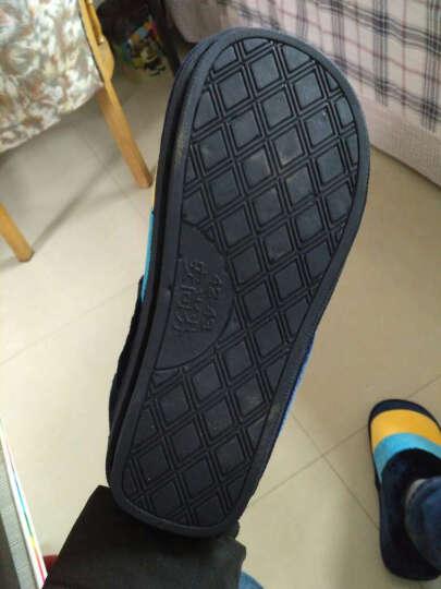 安尚芬 棉拖鞋 男女士情侣拖鞋居家防滑厚底保暖半包跟棉鞋 西瓜红 260 38-39适合37-38 晒单图