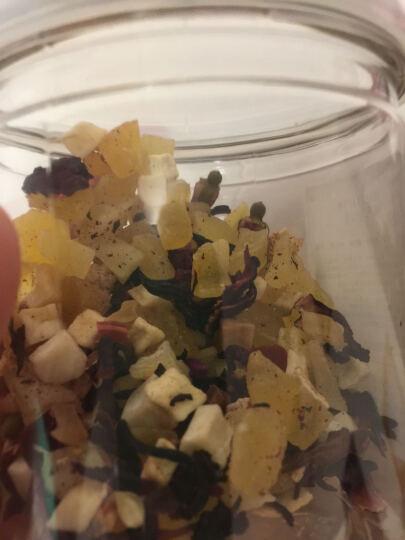 浪漫时光 水果茶洛神花果茶巴黎香榭果粒茶 口味随机 水蜜桃味105g 晒单图
