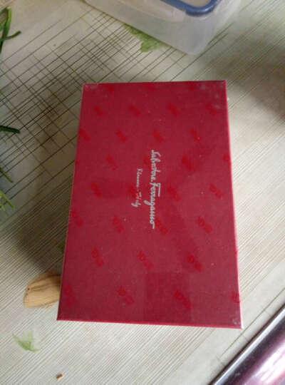 Salvatore Ferragamo 菲拉格慕 女士海蓝色牛皮蝴蝶结装饰时尚单肩包 22B850 0560818 晒单图