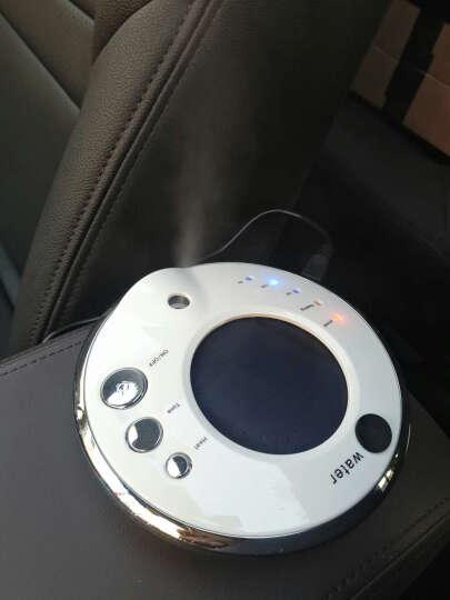 利拓(LI TUO)  太阳能车载空气净化器汽车负离子氧吧 香薰加湿器 升级版滤网净化器-黑色 晒单图
