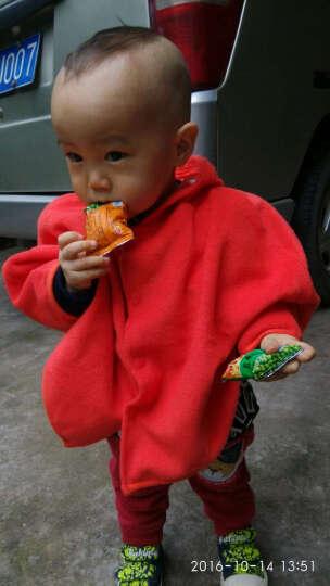 嘉乐宝杰斯卡春款韩版草莓 小鸭造型披风 宝宝披风 儿童披风披肩 儿童斗篷 红色薄款 均码0-2岁 晒单图