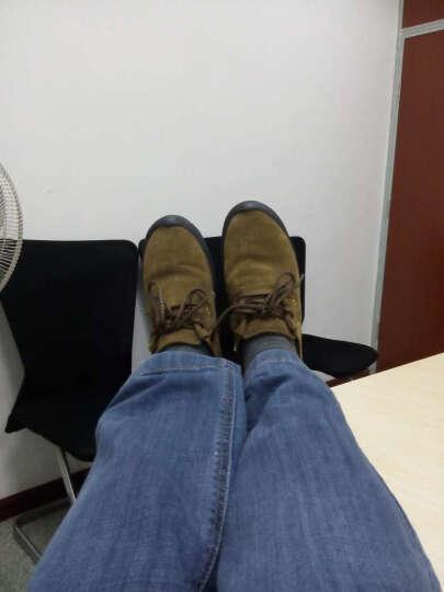 西域骆驼男鞋新款工装鞋透气耐磨运动户外类登山鞋男士休闲鞋 03军绿 40 晒单图