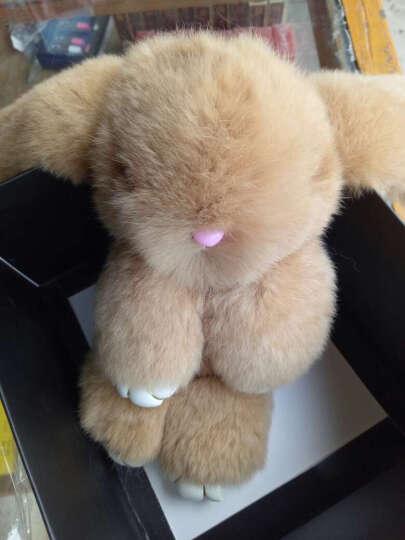 装死兔子毛绒玩具挂饰品 獭兔毛背包书包汽车挂件钥匙扣公仔 女生礼物 随机 晒单图