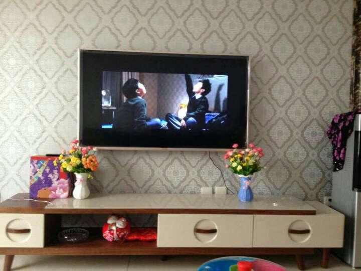 福嘉福  唯美韩国玫瑰仿真花套装客厅欧式玫瑰装饰花绢花艺假花盆栽 粉色玫瑰 晒单图