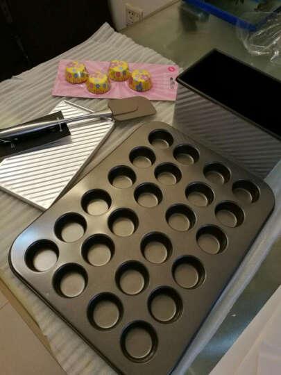 杰凯诺碳钢玛芬烘焙工具24连模 小纸杯蛋糕不粘涂层送油纸杯 加大模具务必量好尺寸 晒单图