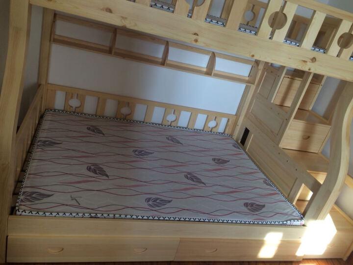 童鑫 松木实木高低床上下床子双层床 男孩女孩松木家具 1.2挂梯子母床 晒单图