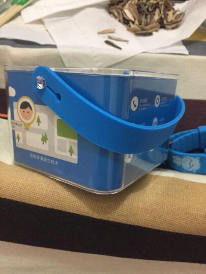 爱贝多 i8儿童电话手表定位小学生男孩女生儿童微信防水智能防丢手环手表手机 蓝色 基础版  按键版+生活防水+ 4重精准定位 晒单图