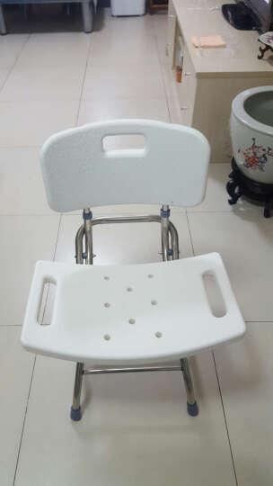 高博士(GAOBOSHI) 老人洗澡椅沐浴椅孕妇浴室凳子洗澡凳 经典版 晒单图