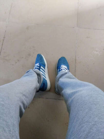 秋季男鞋子运动鞋男士休闲鞋韩版阿甘板鞋跑步鞋板鞋透气垫鞋N95 1606兰 41 晒单图