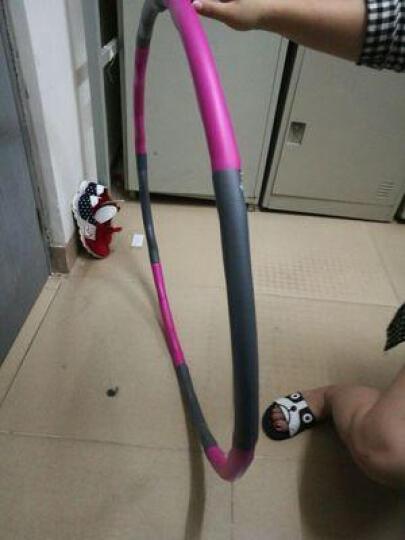 轩之梦 呼啦圈健身收腹瘦腰 女士成人儿童呼啦圈 可拆卸按摩软弹簧健身套装呼啦圈家用 10mm瑜伽垫+四管拉力器+网包紫色 晒单图