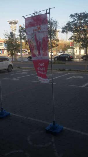 印帮3米旗帜经编布旗帜制作户外广告彩旗制作宣传旗注水刀旗旗杆 经编旗帜布60x160 晒单图