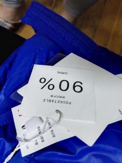 Z&FE HBO-3 轻薄羽绒服女 连帽时尚气质修身韩版 深紫 160/84A(M) 晒单图