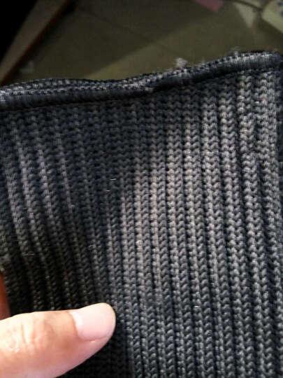 无贼(WZJP) 凯夫拉耐高温防割护臂护腕户外防护装备防割手套 黑色防割手套专业防护版 均码 晒单图