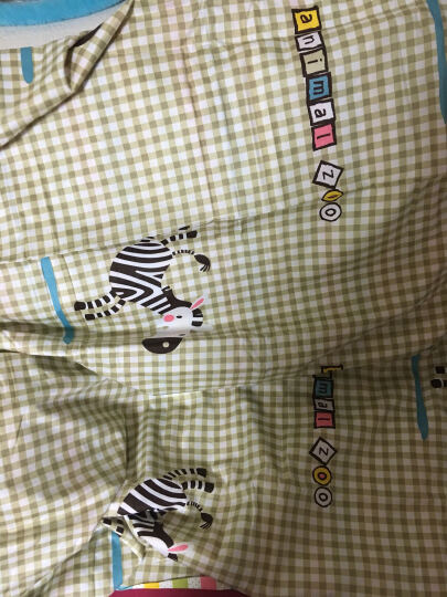 南极人 床品套件 纯棉四件套 全棉床上用品床单被套 宁静花海 1.5米/1.8米 晒单图