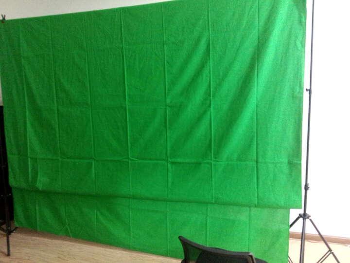 摄影怪兵器/hakutatz/摄影背景架子背景布拍照道具 儿童人像婚庆幕布抠像 绿色 2.6x3背景架+3x6米背景布 晒单图