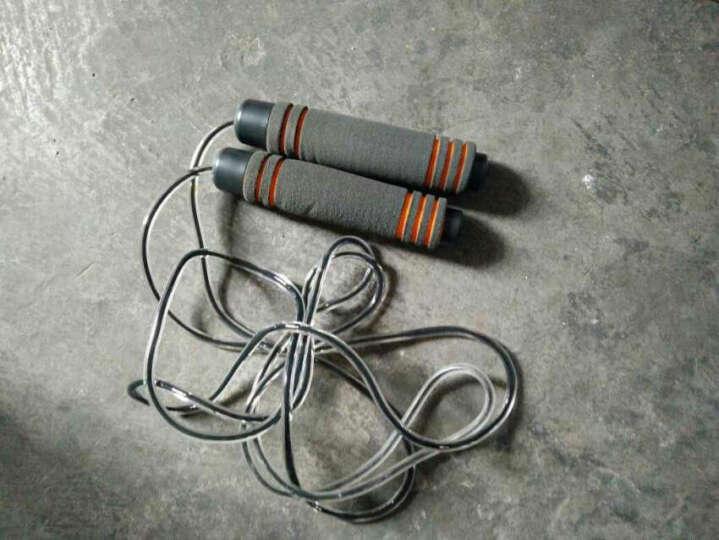 酷峰 专业轴承跳绳减肥健身成人学生儿童中考专用可调节绳子 负重款-双层包芯PVC绳 晒单图