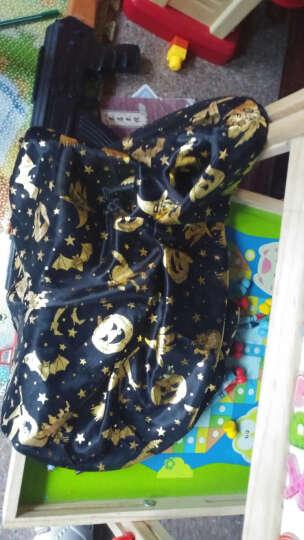 万圣节儿童服装衣服服饰装扮巫婆斗蓬帽五星披风南瓜桶 帽子+披风+南瓜桶 晒单图