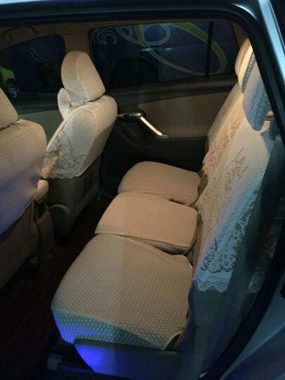 威威 汽车座套布艺蕾丝坐套全包车座椅套奥迪A6l a4l q5 q3宝马3系5系x1 CV6016-半截带座 可定造其他车型 晒单图